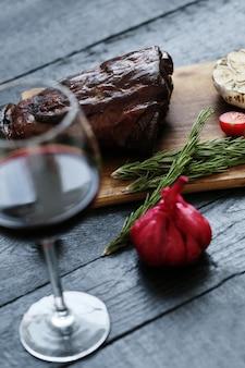 Carne assada com especiarias