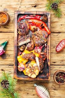 Carne assada de natal