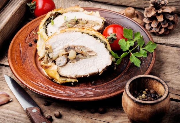 Carne caseira wellington