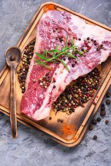 Carne de bovino crua