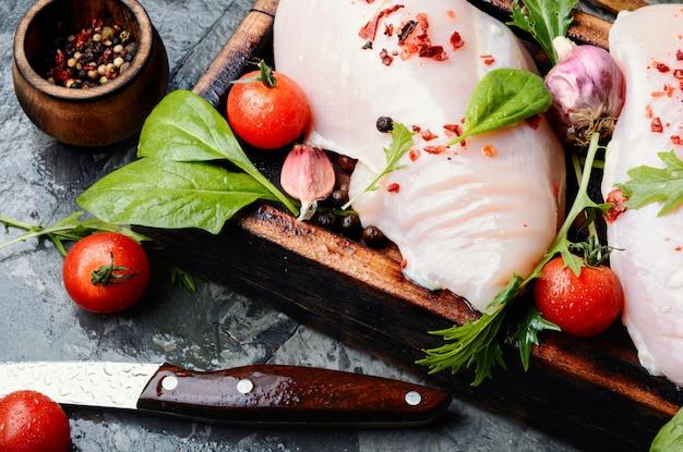 Carne de frango fresca