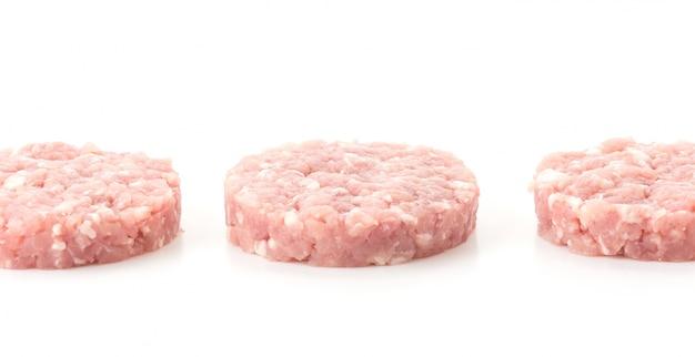 Carne de porco picada