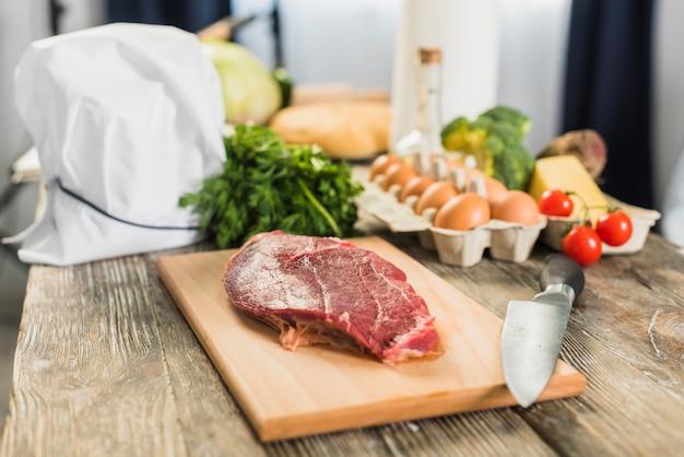 Carne e legumes