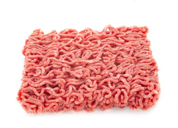 Carne picada em estúdio