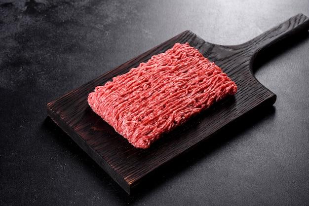 Carne picada fresca