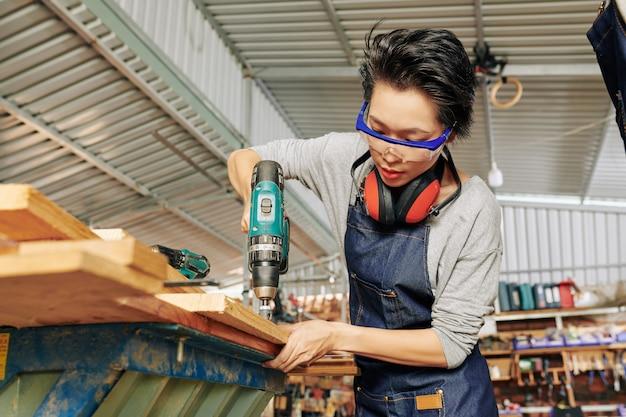 Carpinteiro de perfuração