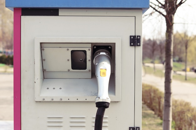 Carregador de rua para carros elétricos