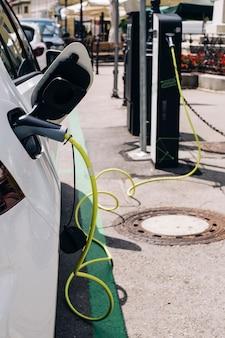 Carregamento de um carro elétrico