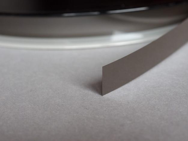 Carretel de fita magnética
