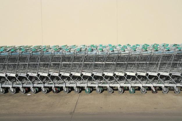Carrinhos de compras seguidos