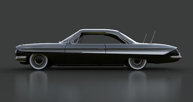 Carro americano antigo em excelente estado de renderização em 3d