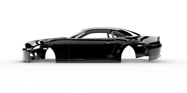 Carro corpo preto