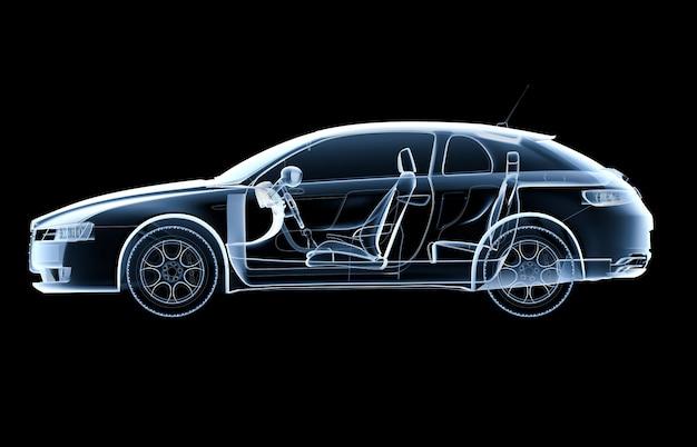 Carro de raio-x lateral