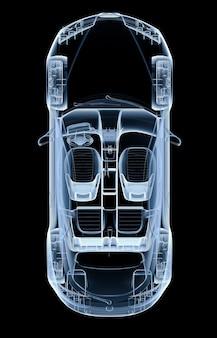 Carro de raio x superior