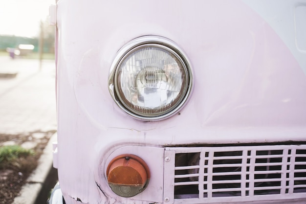 Carro retrô vintage