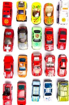 Carros coloridos brinquedos