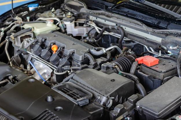 Carros detalhe motor