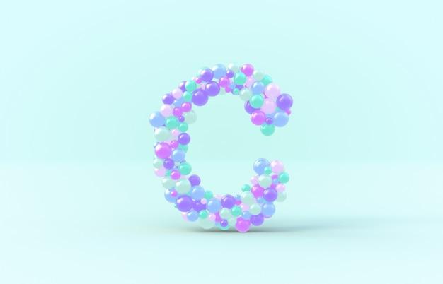 Carta de doces doces bolas c