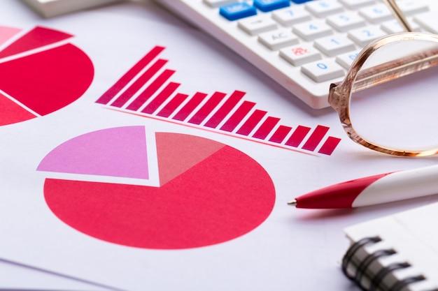 Carta de negócios mostrando sucesso financeiro