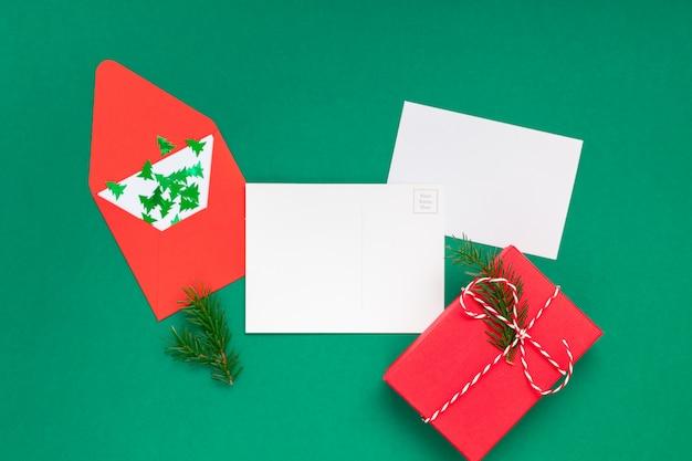 Carta de saudações de natal