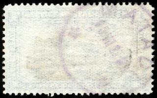 Carta selo velho em branco
