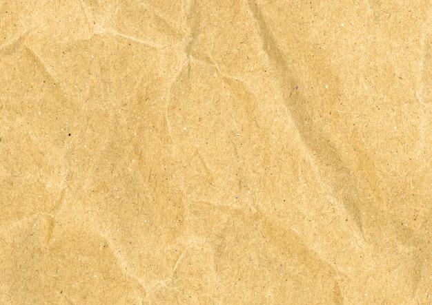 Cartão amassado em sépia