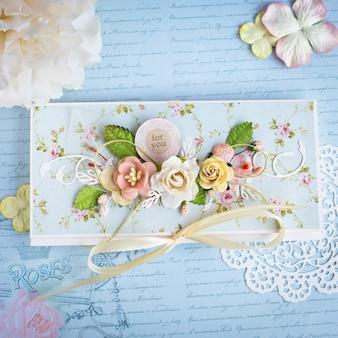 Cartão artesanal (envelope)