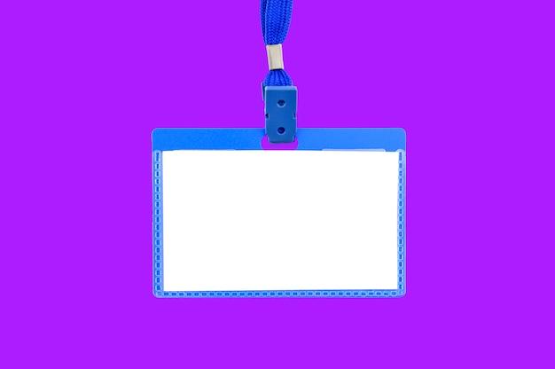 Cartão de acreditação - acreditação de imprensa