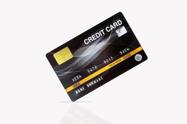 Cartão de crédito em branco