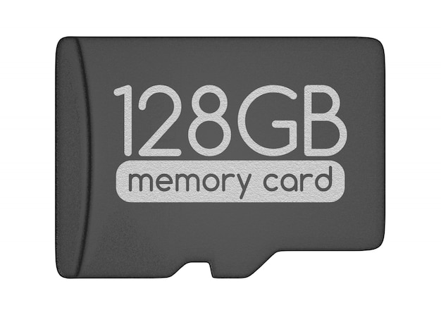 Cartão de memória microsd.