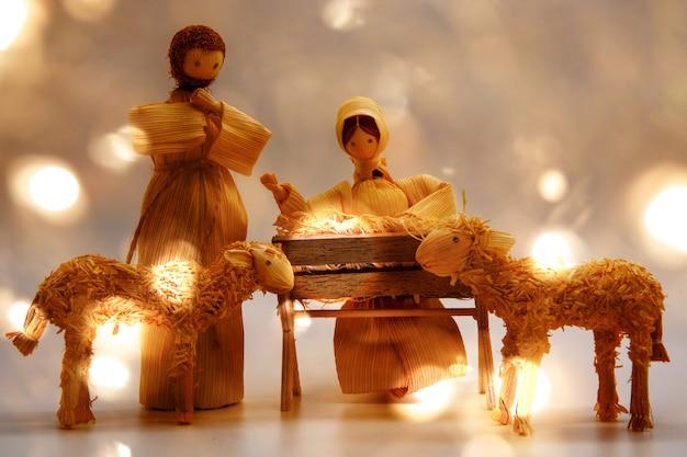 Cartão de natal jesus bebê
