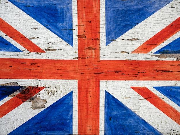 Cartão lindo e brilhante com parabéns pelo feriado britânico.