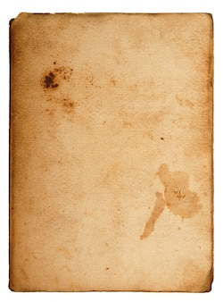 Cartão vintage com espaço em branco para escrever