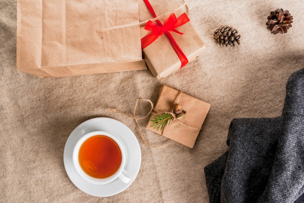 Cartas e presentes de natal