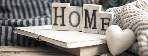 Cartas em casa no livro