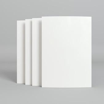 Cartões de visita corporativos em branco com sombras