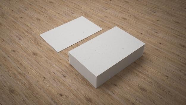 Cartões de visita mock up design