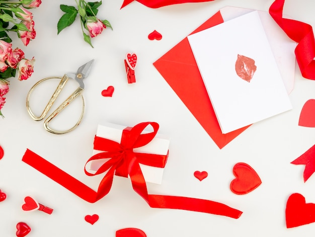 Cartões e presente de dia dos namorados