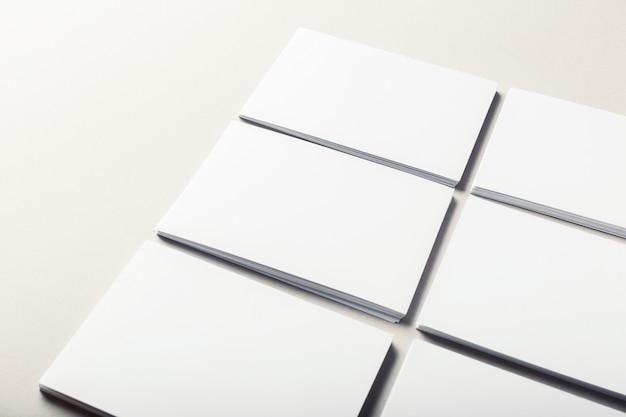 Cartões em branco