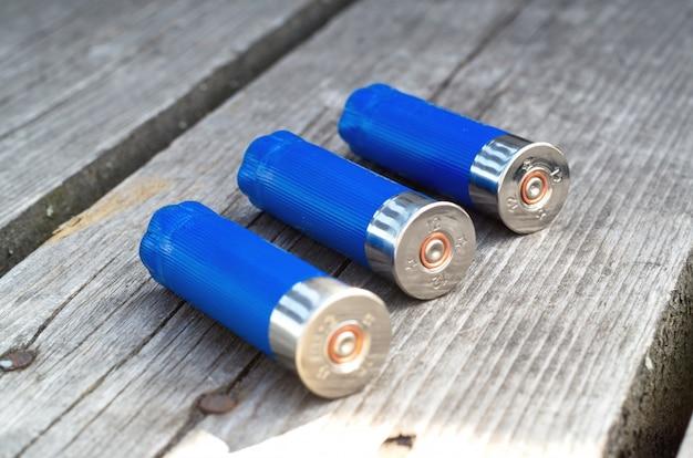 Cartuchos usados disparados cartuchos vazios da bala do tiro.