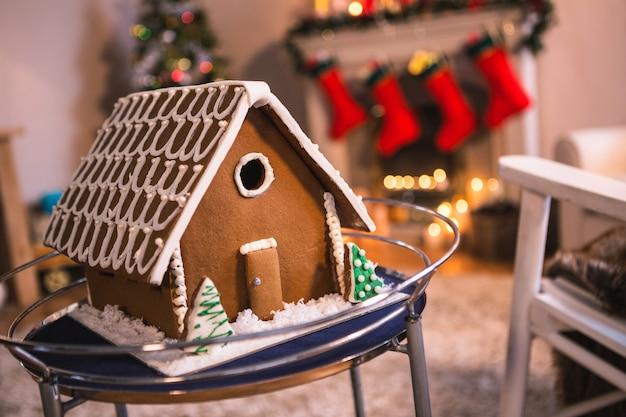 Casa comestível em miniatura
