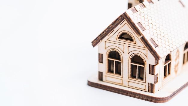 Casa de brinquedo adorável close-up