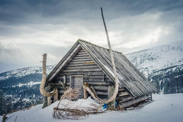 Casa de campo no salão barania