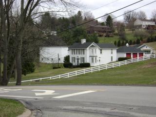 Casa de fazenda na pensilvânia