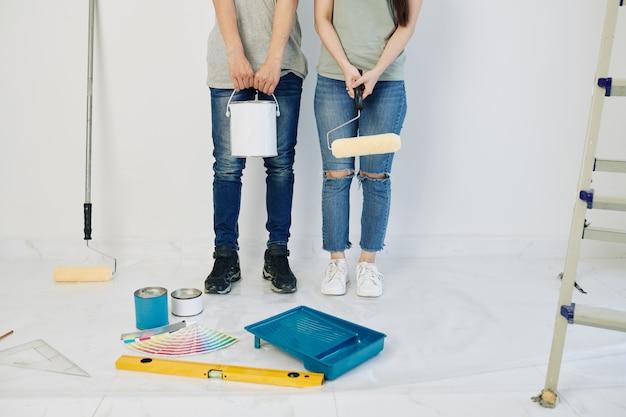 Casa de pintura de casal
