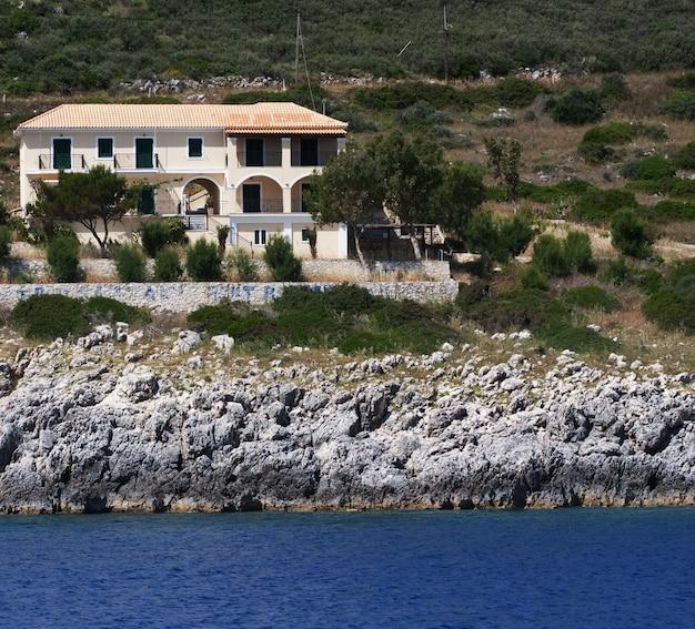 Casa em ilha na grécia