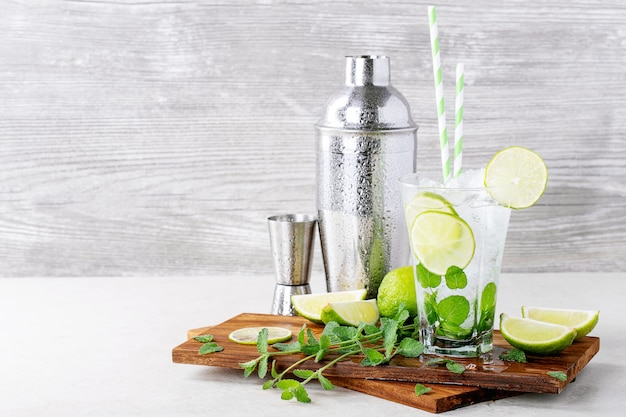 Casa feita cocktail mojito