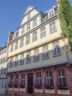 Casa goethe em frankfurt am main, alemanha