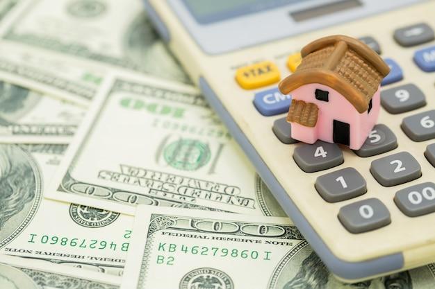 Casa na calculadora