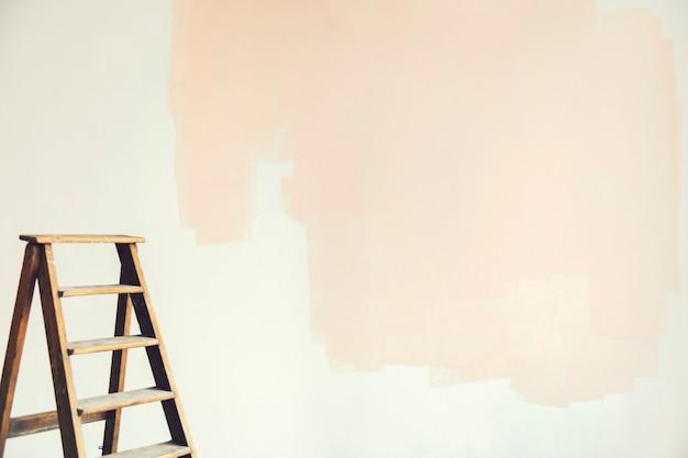 Casa reforma com uma nova cor